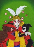 Quit Clowing Around Kefka by CaribbeanBlue