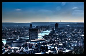 Just my town by BenoitJWild