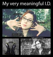 My Very Meaningful I.D. by AliceInUnderland