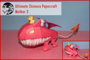Ultimate Chimera Papercraft by picklelicker129