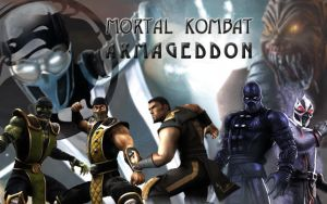 Mortal Kombat Kollage by jkaige