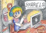 Barrels! by Magical-Awesome-Kid