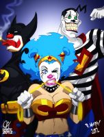 DC Clown Nation by Cahnartist