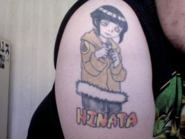 My first tattoo Hinata Hyuga by Prince-of-Pop