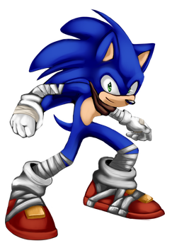 Sonic Boom 8D speedpaint by KyuubiCore