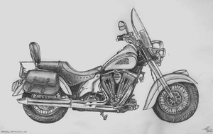 Indian Motorcycle by Shirvell