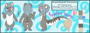 Kayden Official Ref 2015 by Alyxosaurus