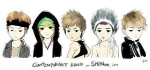 'Icon' Chibi SHINee Lucifer by annisaretry
