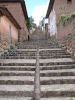 Chinchero Market Steps by Father-Alexander