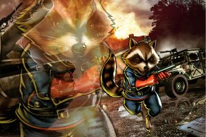 MVC Rocket Racoon by ighor5