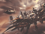 Futurist City by SckOne