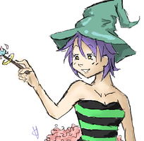 Witch wand by Tweeter72