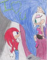 Knuxouge by Hannahblue123