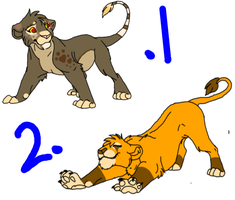 Lion Adopts! by Frozen-Icicles