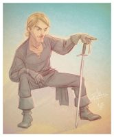 Westley, aka The Dread Pirate Roberts by patrickianmoss