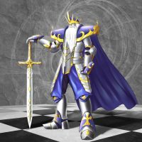 Chess: White King by TakemaKei
