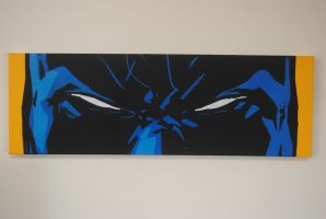 Batmans Dirtbag Face / Spraypaint by Joshfryguy