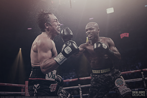 Boxing Wallpaper , Bradley x Marquez by RafaelVicenteDesigns