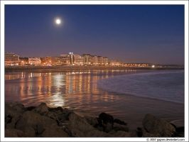 Caparica By Night by jpgmn