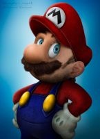 Super Mario Untooned by renanciocmonte