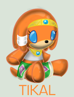 Plushie Collection:Tikal by WingedHippocampus