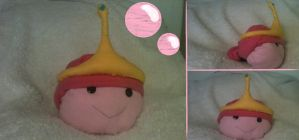 Princess Bubblegum Pillow (FOR SALE) by LoveYouForeverBabe