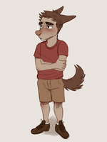 pup by hyenavomit