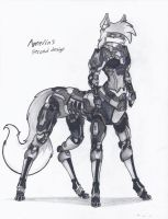 Amelia's 2nd taur design by NeoLupeTrooper9893