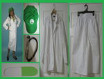 Dr Female Luigi Items by LunarEmpress