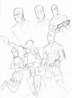 DP sketches by wogeic