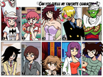 Guess My Favorite Characters? Contest *OVER* by MargaritaTaichou