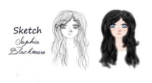 Sketch Sophia Blackmore by AngelTany
