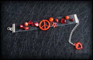 Peace in Red by Marjolijn-Ashara