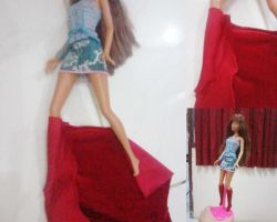 Madison myscene doll velvet boots by seawaterwitch