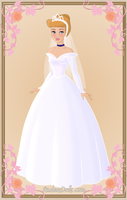 Cinderella { Wedding Dress } by kawaiibrit