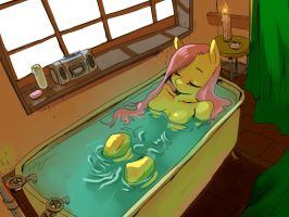 bathing by Swomswom