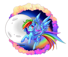 Rainbow Dash by Kurohi-tyan