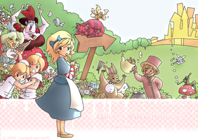 Alice's New Wonderland by mangadrawerika91