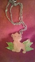 Lion King simba Necklace by LittleRolox3