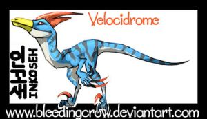 Monster Hunter Velocidrome by macawnivore