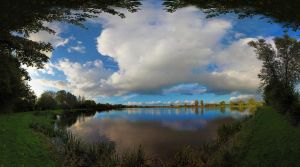 Lake Panorama II by IndependentlyConceal