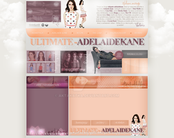 Layout with Adelaide Kane by aktakatka