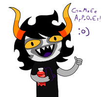 Gamzee Approves by Torn-apart-paper