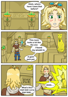 Ezreal's Catgirl Adventure 002 By Themaskofafox by riwini