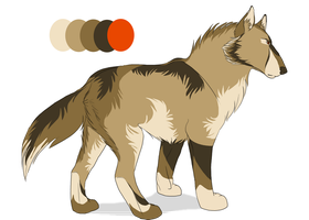 Wolf adoptable 6- Closed by Snowfirewolf