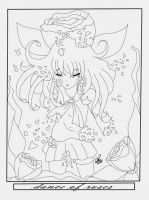 Ib - Dance of rose (WIP) by OriChes