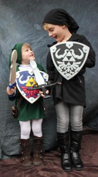 Link and Dark Link by ryamcshme