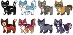 Feline Adopts :OPEN: by PilusAdopts