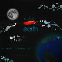 Earth Poster by Wh4T