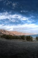 Dead Sea Shore HDR by FinnianTerra